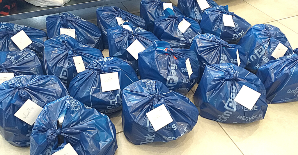 Food parcels by Hope at Hand Edenvale